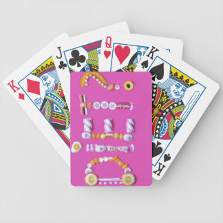 Sweets Bicycle Playing Cards