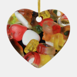 Sweets Candy Ceramic Heart Decoration