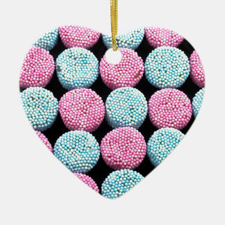Sweets Ceramic Heart Decoration
