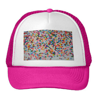Sweets Dessert Rainbow Pattern Cake Cupcake Art Cap