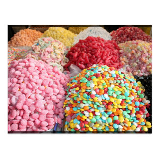 Sweets in Bazaar - Damascus, Syria Postcard