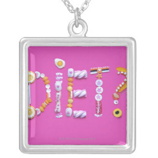 Sweets Silver Plated Necklace