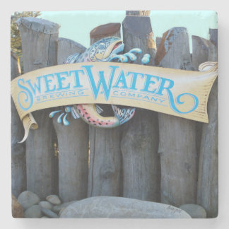 Sweetwater Atlanta Landmark Marble Stone Coaster. Stone Coaster