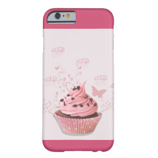 Sweety Pink cupcake Barely There iPhone 6 Case