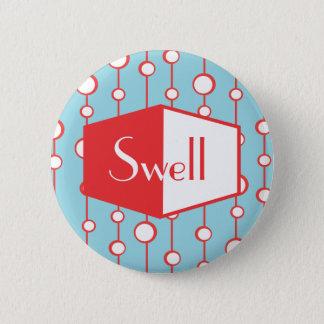 Swell 6 Cm Round Badge