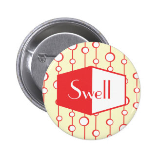 Swell 6 Cm Round Badge