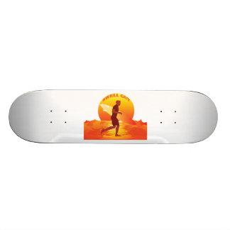 Swell Guy Surfer Skate Deck