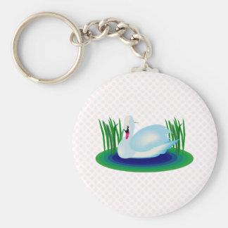 Swerra Swan Key Ring
