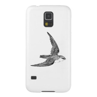 Swift Bird Illustration Case For Galaxy S5