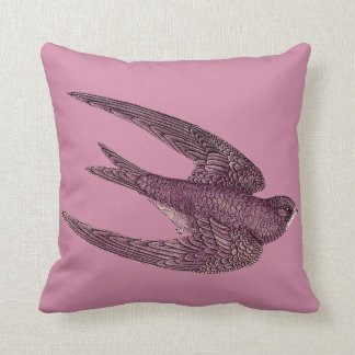 Swift Bird Throw Pillow