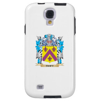 Swift Coat of Arms - Family Crest Galaxy S4 Case