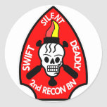 Swift Silent Deadly 2nd Round Stickers