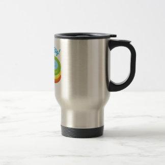 Swim Big! Coffee Mugs