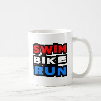 Swim Bike Run Coffee Mugs