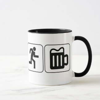 Swim Bike Run Drink Mug