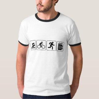 Swim Bike Run Drink Tshirts