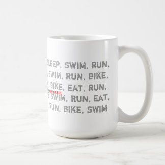 Swim Bike Run - I Am a Triathlete - Coffee Mug