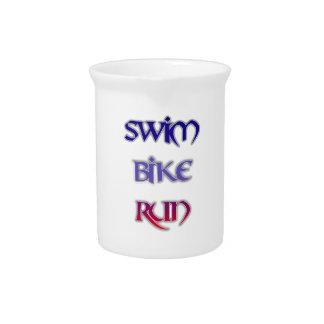 Swim Bike Run Pitcher