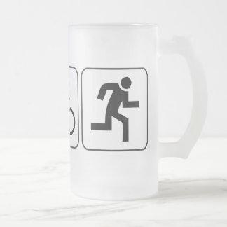 Swim Bike Run - Triathlon Coffee Mugs