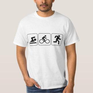 Swim, Bike, Run - Triathlon Tshirts