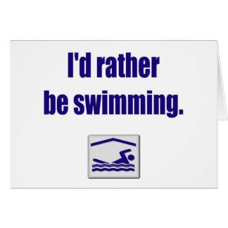 Swim Card