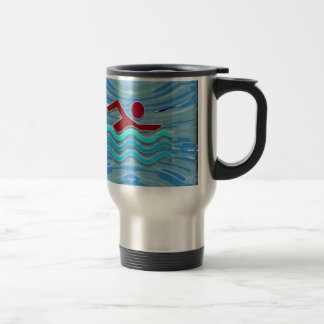 Swim Club Swimmer Exercise Fitness NVN254 Swimming Coffee Mug