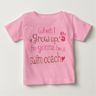 Swim Coach (Future) Infant Baby T-Shirt