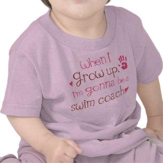 Swim Coach Future Infant Baby T-Shirt