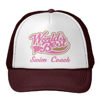 Swim Coach Gift Cap
