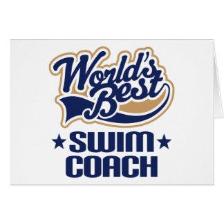 Swim Coach Gift Cards