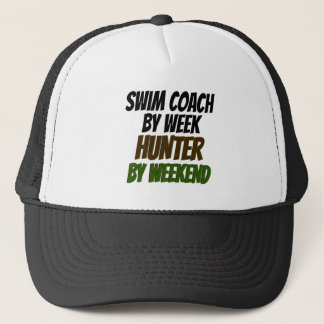 Swim Coach Hunter Trucker Hat