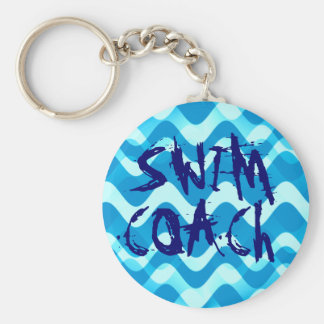 SWIM COACH KEY RING