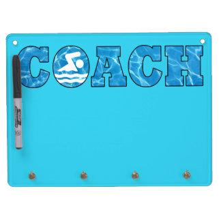 Swim Coach Office Decor Pool Water White Board