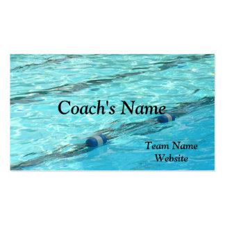 SWIM COACH S BUSINESS CARD