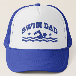 Swim Dad Trucker Hat