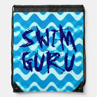 SWIM GURU DRAWSTRING BAG
