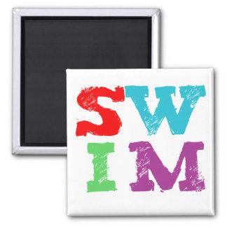 SWIM letters Magnet