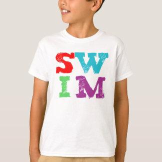 SWIM letters Tshirt
