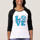Swim Love For Competitive Swimmers or Coaches T-Shirt