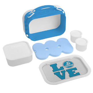 Swim Love Lunch Box for Competitive Swimmers