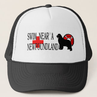 Swim near a Newfoundland Trucker Hat