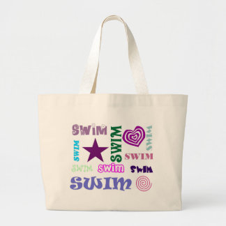 Swim Repeating Large Tote Bag