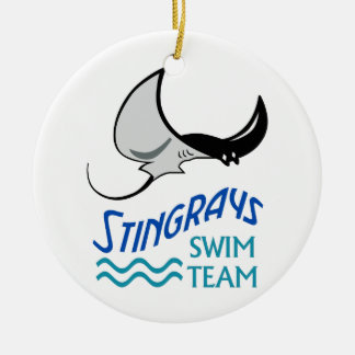 Swim Team Christmas Ornament