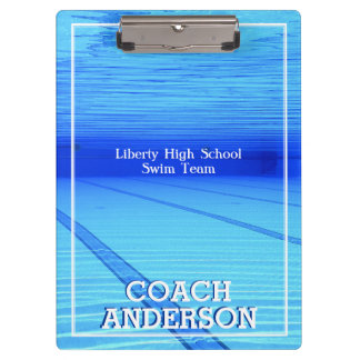Swim Team Clipboard