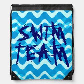 SWIM TEAM CINCH BAGS