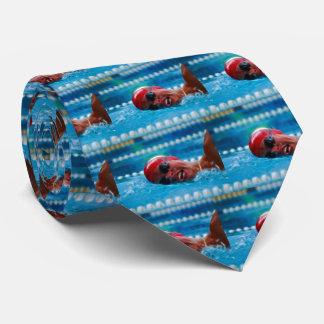 Swim to win tie