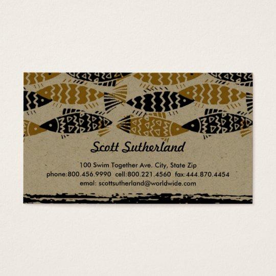 Swim Together Business Card