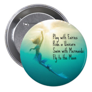 Swim With Mermaids Button