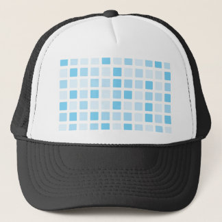 Swiming pool tile trucker hat