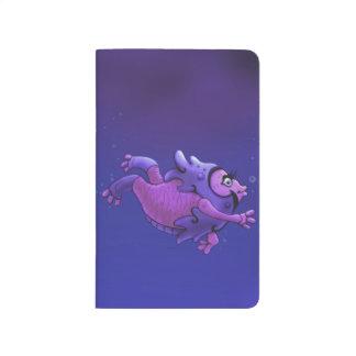 SWIMMER 1 ALIEN CARTOON  Pocket Journal